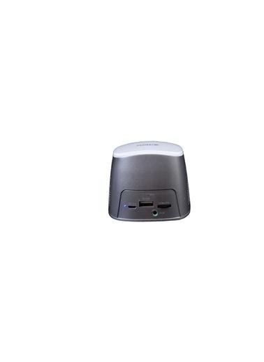 A4 TECH Bts-03 Beyaz 5W Bt Hoparlör 2000Mah Powerbank Gümüş